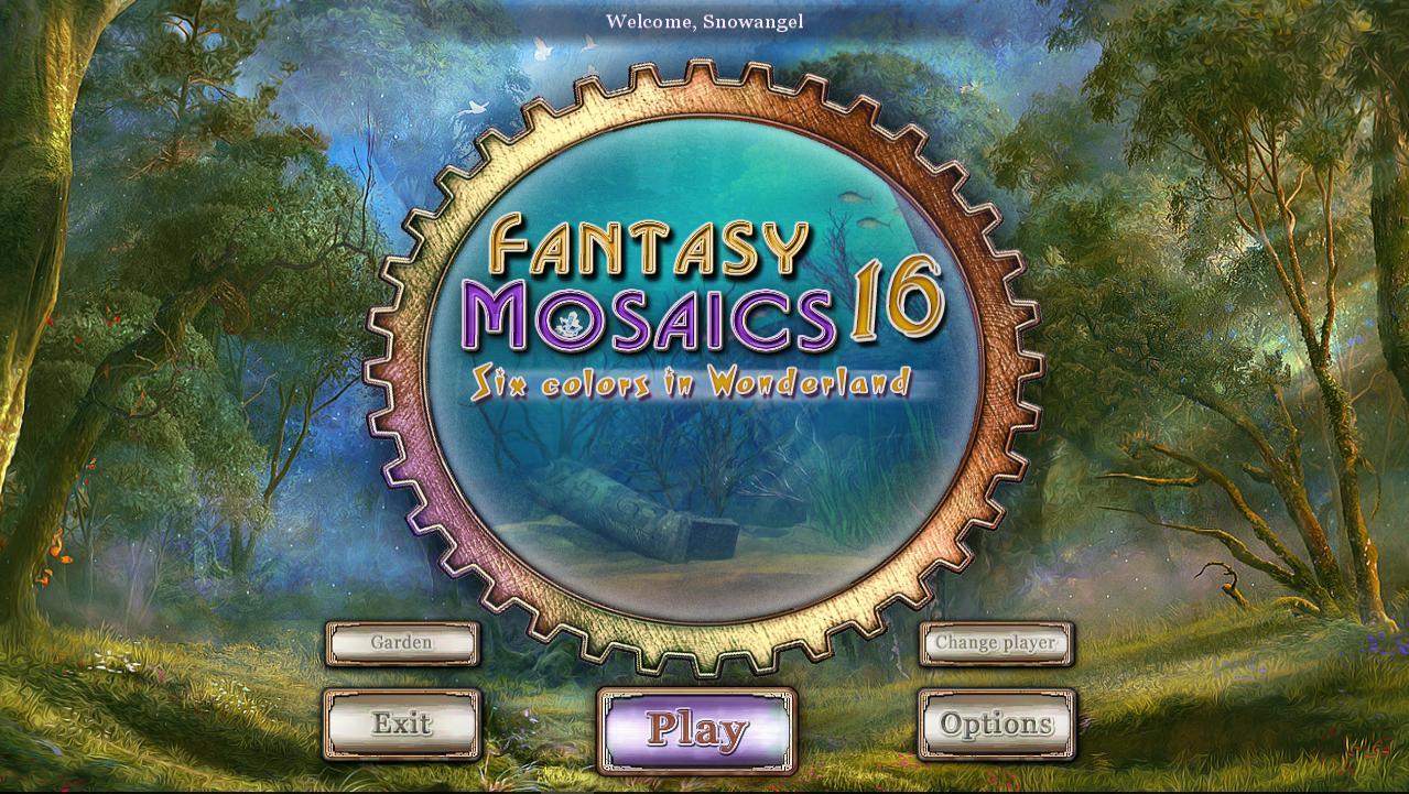 Fantasy Mosaics 16 – Six Colors in Wonderland