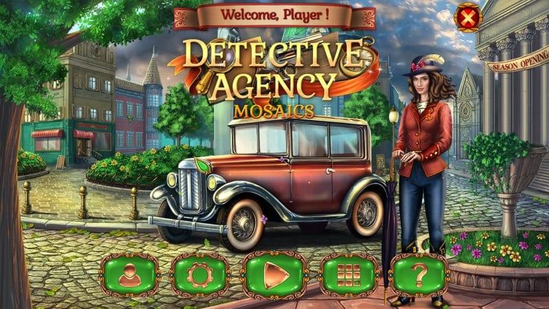 Detective Agency Mosaics - Freegamest